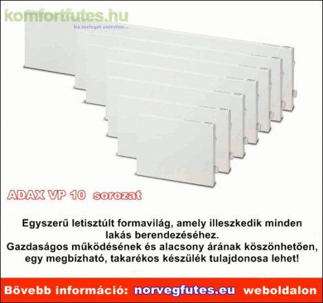 ADAX VP1014 KETP 1400W elektronikus termosztát tartólábbal