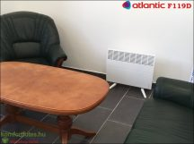 Atlantic F19D 2000W mobil elektromos fűtőpanel ajándék konzollal