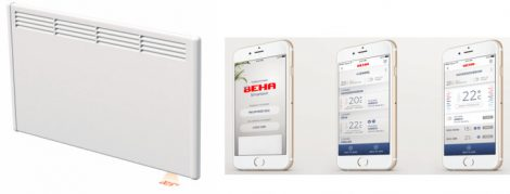 BEHA LV7 750W wifis termosztáttal