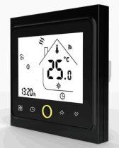 BECA wifi fekete padlószenzoros termosztát