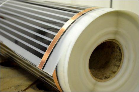 Infra Fűtőfilm 50W/méter 100W/nm