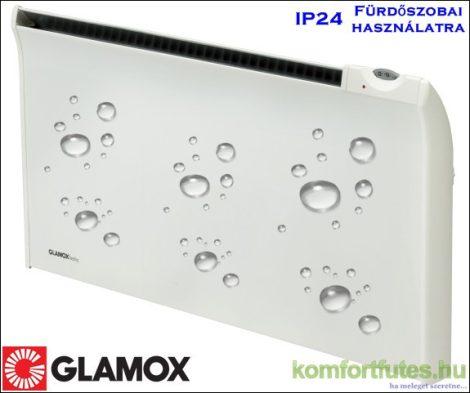 GLAMOX TPVD08 800W fürdőszobai digitális termosztáttal