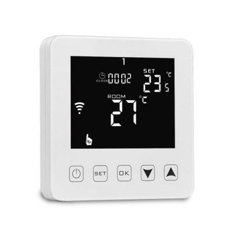 M6 WIFI termosztát programozható padló,és levegő érzékelő szondával 16A