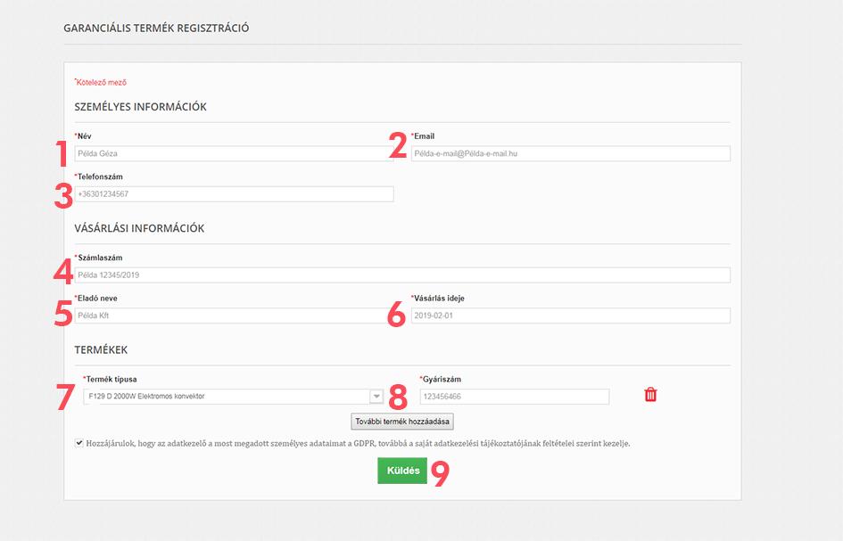 online Atlantic  garancia regisztráció