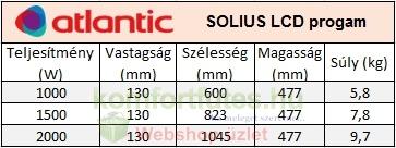 Atlantic solius lcd összehasonlító