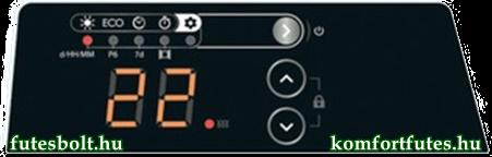 Thermor evidenc3 digital kezelő